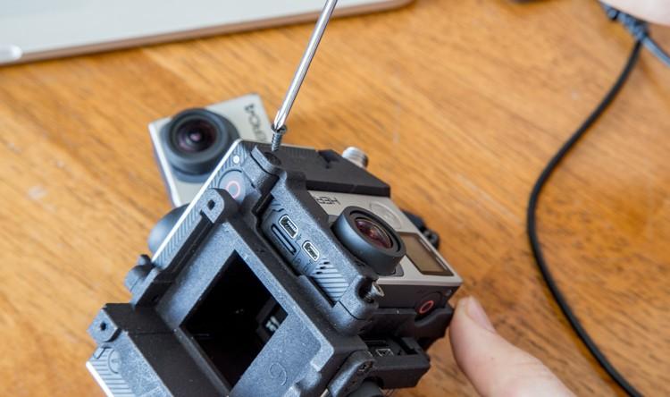 """Что нужно для съёмки """"360 degree video"""""""